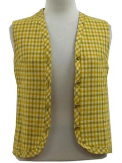 1960's Womens Vest Jacket
