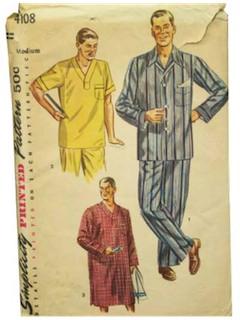 1950's Mens Pattern