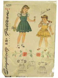 1930's Womens/Childs Pattern