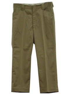 1970's Mens Western Flares Pants
