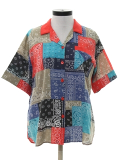 1970's Womens Blouse