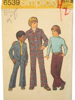 1970's Boys Pattern