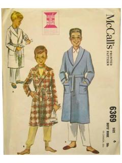 1960's Boys Pattern