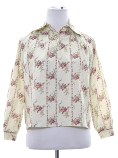 1970's Womens/Girls Print Shirt