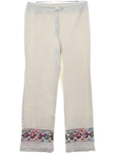 1970's Womens Hippie Pants