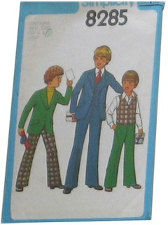 1970's Mens/Childs Sewing Pattern