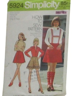 1970's Womens Sewing Pattern