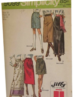 1970's Womans Pattern