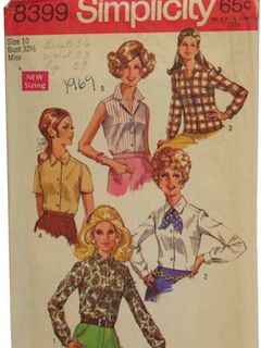 1960's Womans Pattern