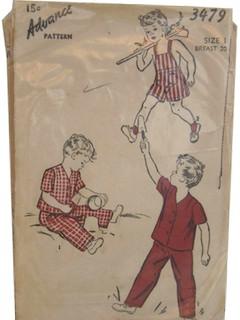 1930's Unisex/Child Pattern