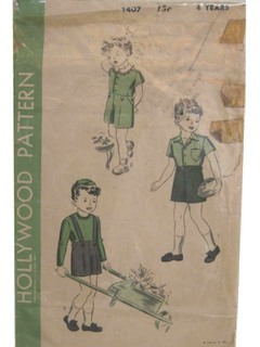1930's Unisex/Childs Pattern