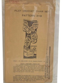1940's Craft Pattern