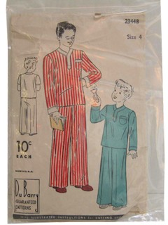 1930's Mens/Childs Pattern