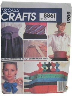1980's Craft Pattern