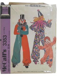 1980's Unisex/Child Pattern