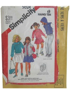 1980's Womens/Childs Pattern