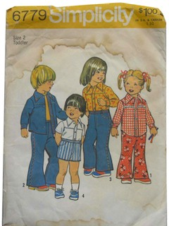 1970's Unisex/Childs Pattern