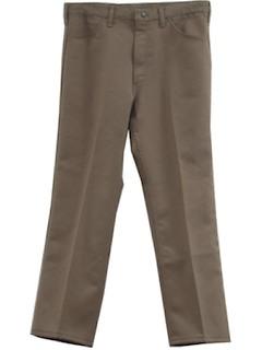 1970's Mens Flares Jeans Pants