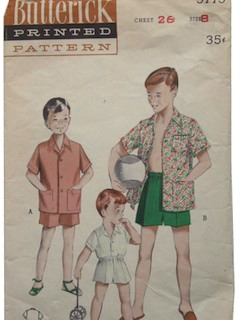 1940's Mens/Childs Pattern