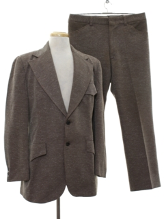 1970's Mens Double Knit Suit