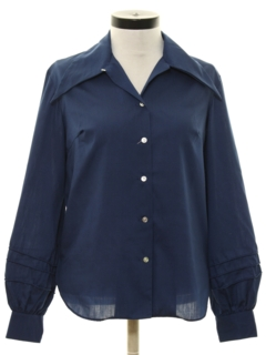 1960's Womens Solid Shirt