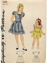 Womens/Childs Dress  Pattern