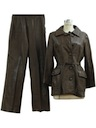Womens Leather Pants set.