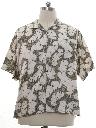 Mens Totally 80s Reverse Print OP Hawaiian Shirt