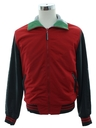 Mens Totally 80s Style Members Only Jacket