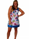 Womens Hippie Mini Dress