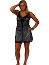 Womens Totally 80s style Punk Goth Mini Dress