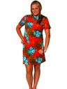 Womens Print Mini Dress