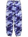 Mens Totally 80s Baggyz Brand Baggy Print Camo Pants