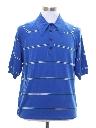 Mens Mod Knit Polo Style Ban-Lon Shirt
