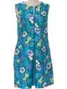 Womens Mini Hawaiian Dress