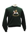 Womens Bear-riffic Vintage Ugly Christmas Sweatshirt