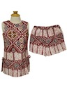 Womens/Girls Hawaiian Shirt and Shorts Outfit