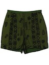 Womens Mod Hawaiian Shorts