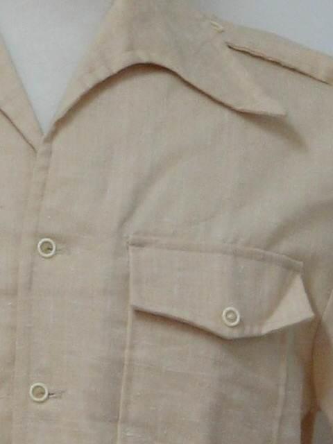 Mens Shirt Epaulets
