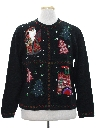 Womens Country Kitsch Style Ugly Christmas Sweater