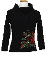 Womens/Girls Ugly Christmas Cocktail Sweater