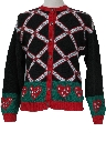 Womens Totally 80s Ugly Christmas Sweater