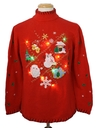 Unisex Lightup Multicolored Ugly Christmas Sweater