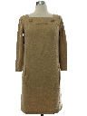 Womens Designer Mod Mini Dress