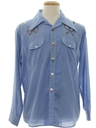 Womens Chambray Hippie Shirt
