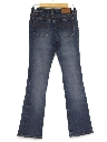 Womens Wicked 90s Flared  Low-Rise Skinny Leg Jeans Pants