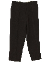 Mens Wool Pleated Pants
