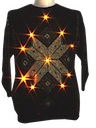 Unisex Totally 80s Lightup Ugly Christmas Sweater