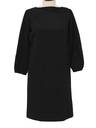 Womens Knit Little Black Dress