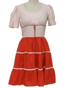 Womens Square dancing Dress